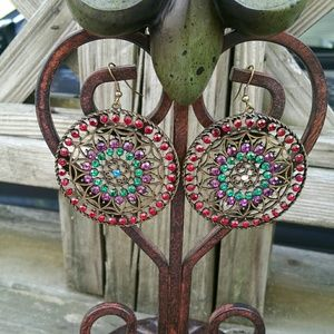 Gorgeous antique style earrings